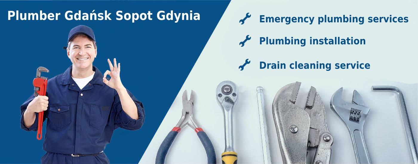 plumber gdansk sopot gdynia emergency plumbing